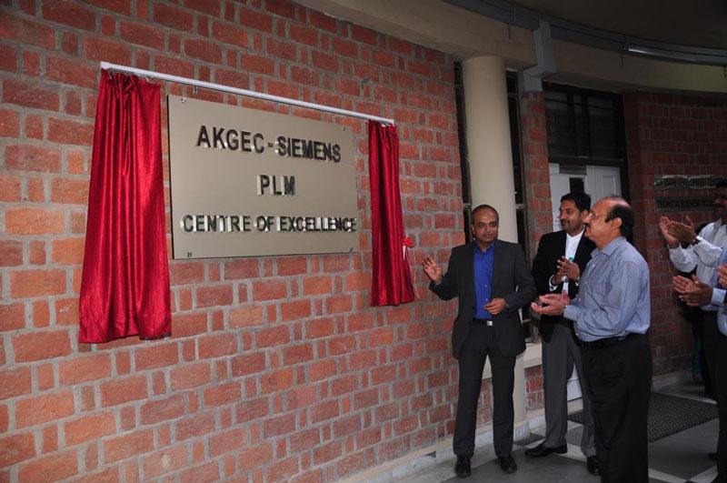 Inauguration: AKGEC-SIEMENS
