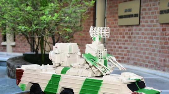Scanning & 3D Printing of Combat Vehicle