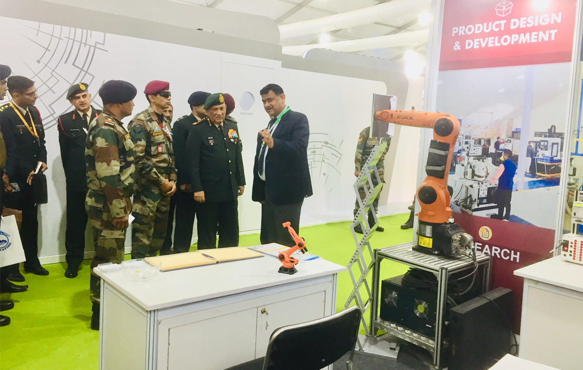 Participation at DEFEXPO-2020