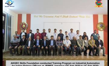 Training for IRIMEE Jamalpur, Bihar